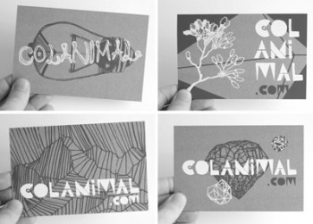 Série de postais produzida em serigrafia-03